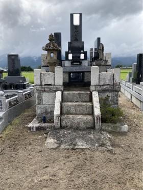 お墓のおそうじ030809-2